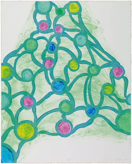 Leda Catunda, 'Circles from Projeto Night Club', 2014