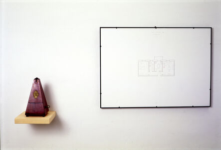 Luca Vitone, 'Non siamo mai soli (Metronomo)', 1994
