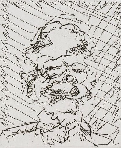 Frank Auerbach, 'David', 1989