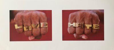 Isaac Julien, 'Hate / Love', 2006