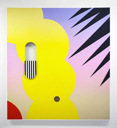 Derek Mainella, 'Untitled (Lavender Pink Beige Yellow)', 2017