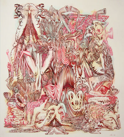 James Esber, 'Untitled (Red Heap)', 2006