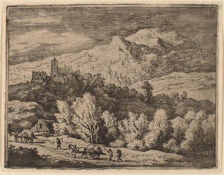 Allart van Everdingen, 'Two Carts', probably c. 1645/1656