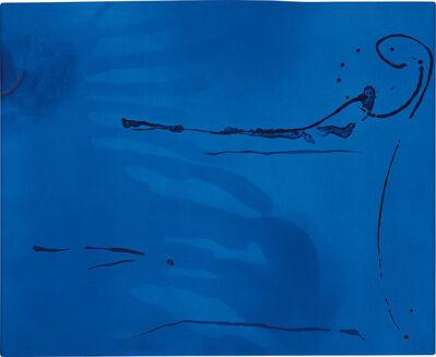 Helen Frankenthaler, 'Blue Current (H. 134)', 1987