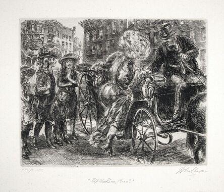 "John Sloan, '""Up the Line, Miss?""', 1930"