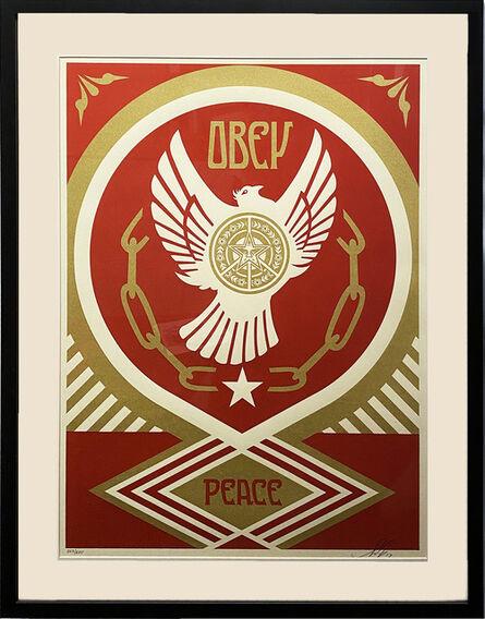 Shepard Fairey, ''Peace & Freedom Dove (Gift)' Framed', 2012