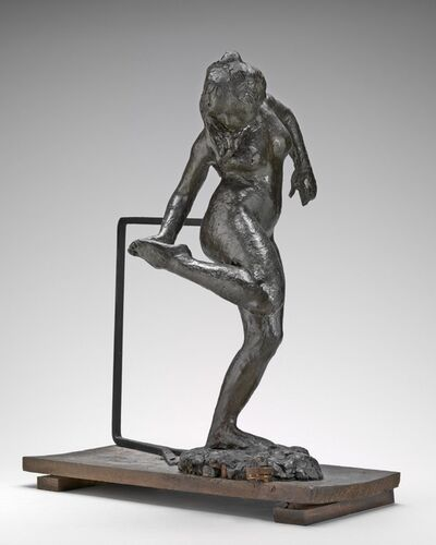 Edgar Degas, 'Dancer Looking at the Sole of Her Right Foot', ca. 1890s