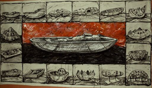 MOSCOVICI Ariel, 'Entre deux points 4', 1997