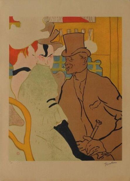 Henri de Toulouse-Lautrec, 'L'Anglais au Moulin Rouge', 1985