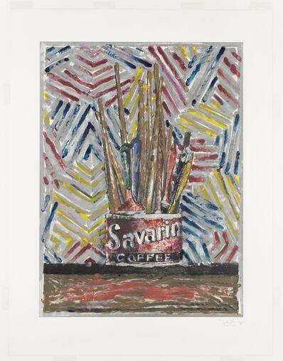 Jasper Johns, 'Savarin ', 1982