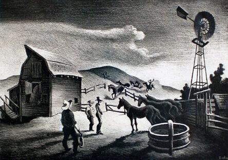 Thomas Hart Benton, 'The Corral', 1948