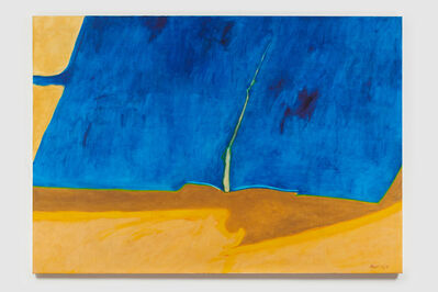 James Moore, 'Untitled I (Blue Yellow Brown)', 1978