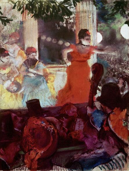 Edgar Degas, 'Café Concert aux Ambassadeurs', 1876-1877