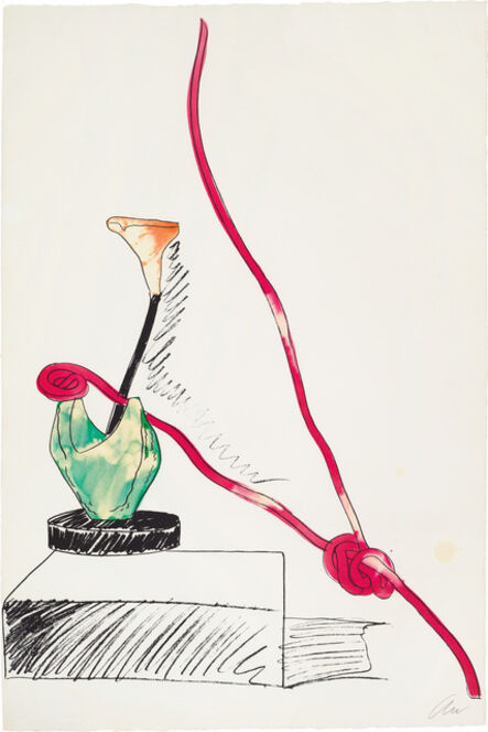 Andy Warhol, 'Flowers (Hand-Colored)', 1974