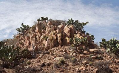 Julius von Bismarck, 'Landscape Painting (Desert)', 2015