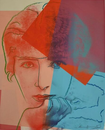 Andy Warhol, 'Sarah Bernhardt (F&S II.234 Ten Portraits of Jews of the Twentieth Century)', 1980