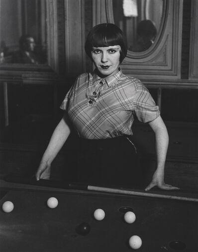 Brassaï, 'Prostitute Playing Snooker', 1933