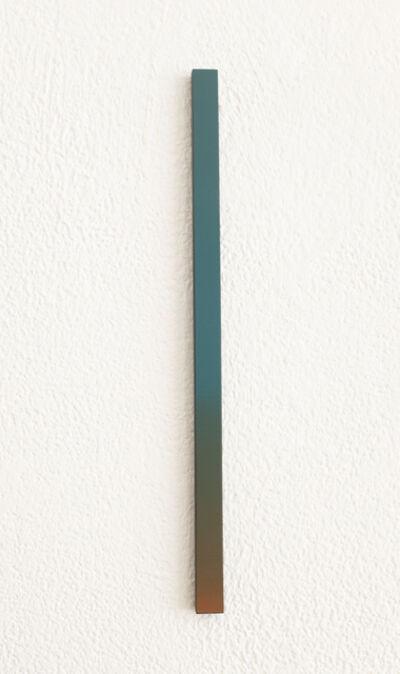 Misato Seki, 'Slit (green and orange)', 2019