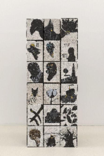 Omar Ba, 'Traces et Mémoires 3', 2013