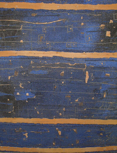 Georges Noël, 'Semi bleu roi, no 2 ', 1995