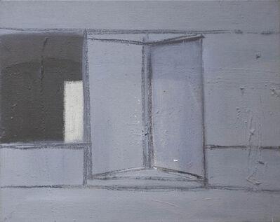 Merlin James, 'Grey Door', 1993-1996