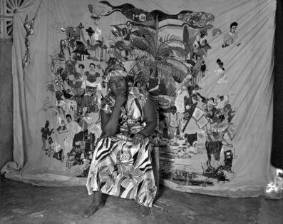 Laura Heyman, 'Myrlande Constant In Her Studio, Carrefour Feuilles, November 2011', 2011