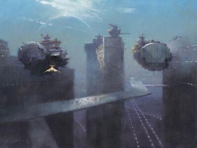 John Harris, 'The Dockyards of Regulus Prime', 2018