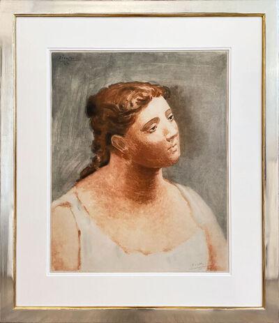 Pablo Picasso, 'Buste de femme en blanc', 1930