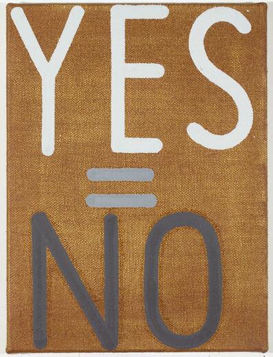Joshua Abelow, 'yes=no #16', 2008