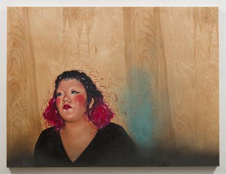 Shizu Saldamando, 'La Gabbi Leather Papi', 2018
