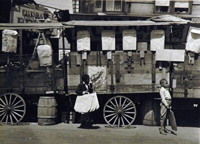 Aaron Siskind, 'Harlem (boys with bags)', 1935