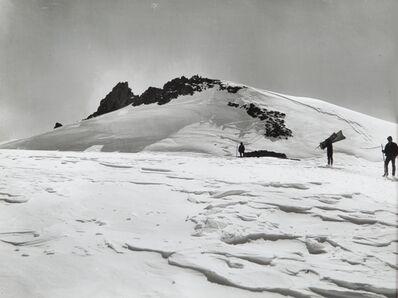 Vittorio Sella, 'Trasporto dei materiali sotto la punta Gnifetti 15 September 1892'
