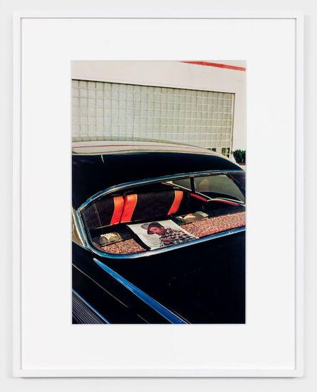 William Eggleston, 'UNTITLED (RECORD ALBUM IN REAR WINDOW) MEMPHIS, TN [FROM DUST BELLS 2]', ca. 1971-74