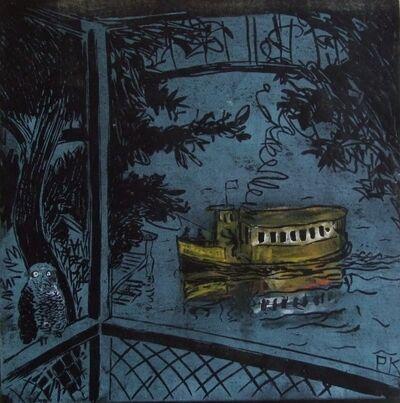 Peter Kingston, 'Night ferry', 2010