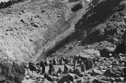 Richard Long, 'Sincholagua Summit Shadow Stones (A 12 Day Walk in Ecuador)', 1998