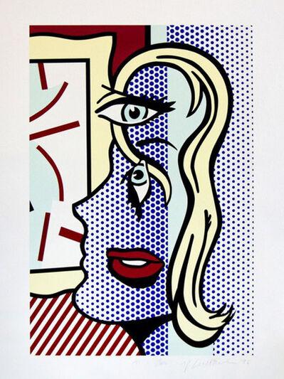 Roy Lichtenstein, 'ART CRITIC', 1996