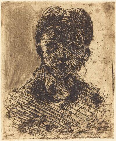 Paul Cézanne, 'Bust of a Girl', 1873