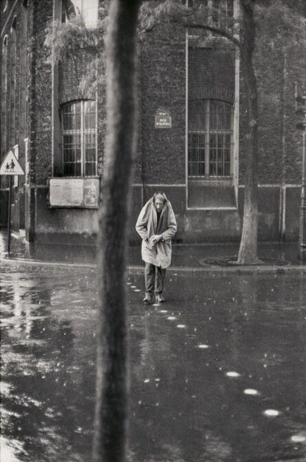 Henri Cartier-Bresson, 'Giacometti, Rue d'Alésia, Paris', 1961