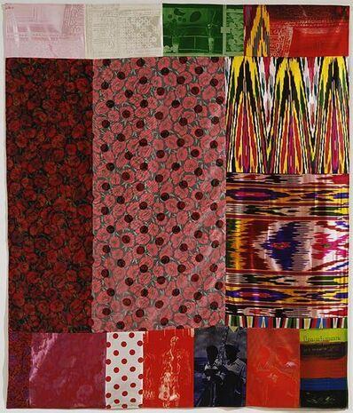 Robert Rauschenberg, 'Samarkand Stitches #I', 1988