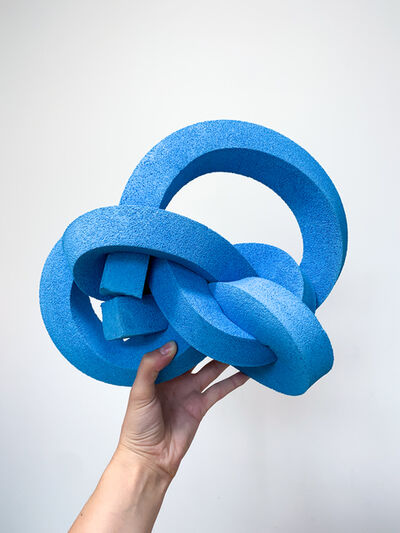 Emily Stollery, 'Untitled (Neon Blue)', 2020