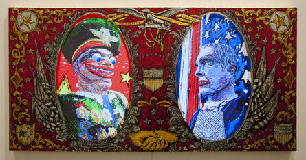 Federico Solmi, 'His Majesty the Emperor of The World/ The Last President of United States of America', 2013