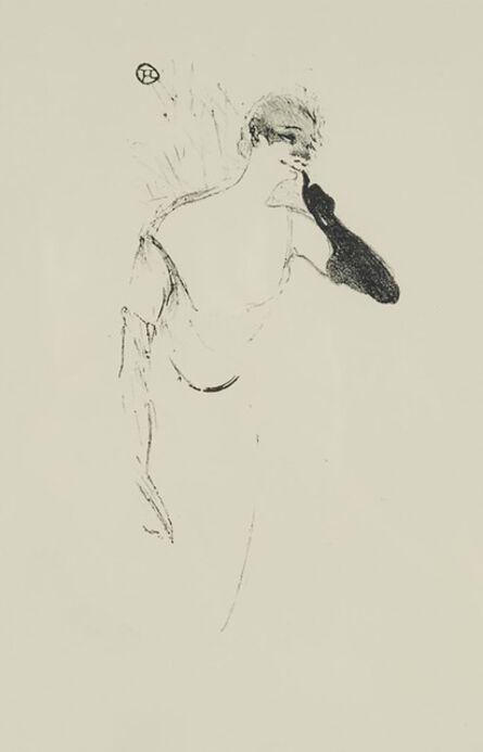 Henri de Toulouse-Lautrec, 'Columbine À Pierrot (Yvette Guilbert) (From Elles)', 1895