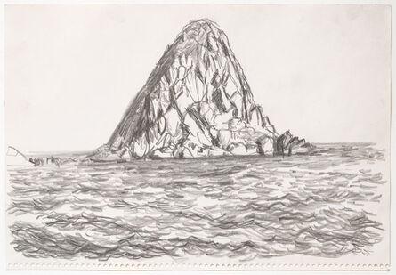 Paul Thek, 'Untitled (Island)', October 1970