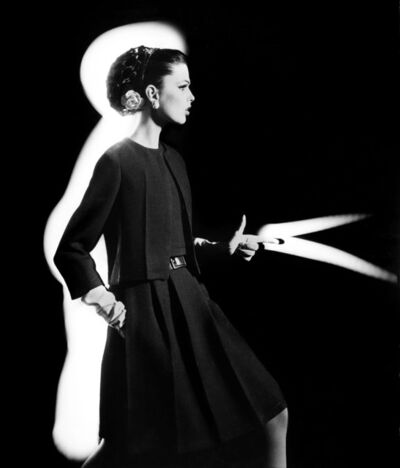 William Klein, 'Dorothy + Light Gun, Paris', 1962