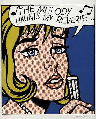 Roy Lichtenstein, 'Reverie, from 11 Pop Artists, Volume II', 1965