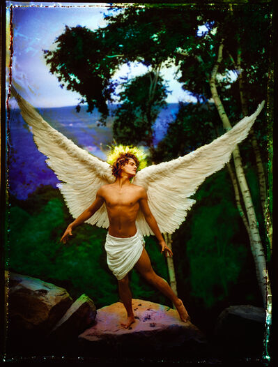 David LaChapelle, 'Archangel Uriel', 1985