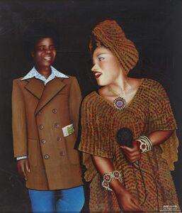 Chéri Samba, 'Le Couple d'artistes', ca. 1983