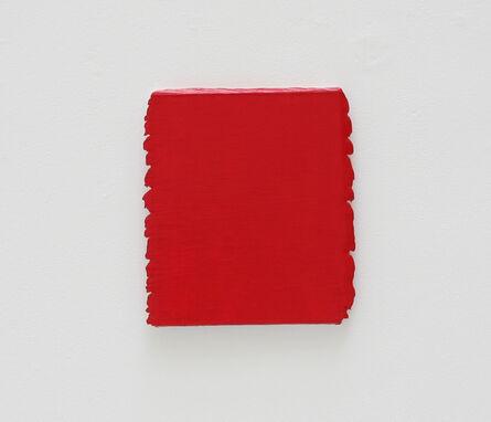 Bernard Aubertin, 'Monochrome rouge n°135', 1996