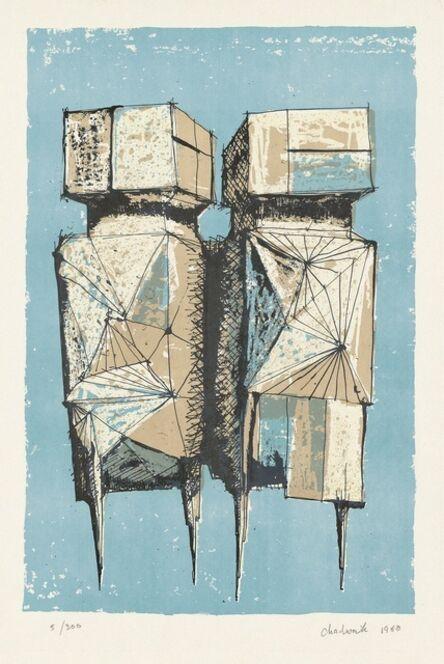 Lynn Chadwick, 'The Guards (Watchers) (1960) (signed)', 1960