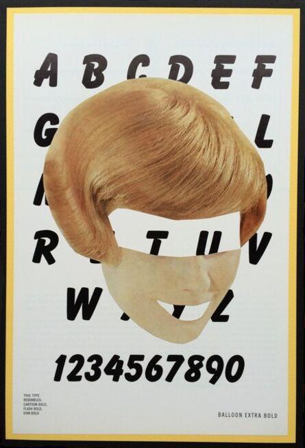 Eva Lake, 'Typeface, Ballon Extra Bold', 2016